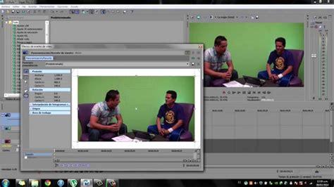 sony vegas pro tutorial using the chroma keyer effect tutorial chroma key pantalla verde sony vegas pro