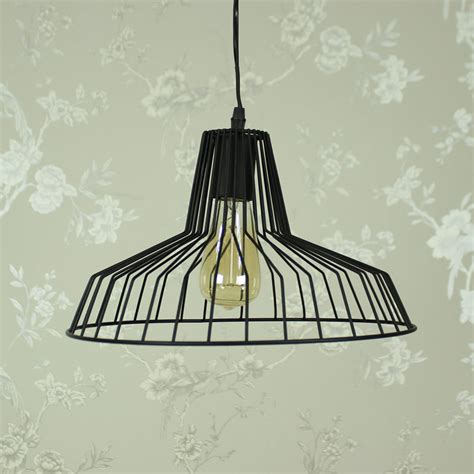 black wire ceiling pendant melody maison 174