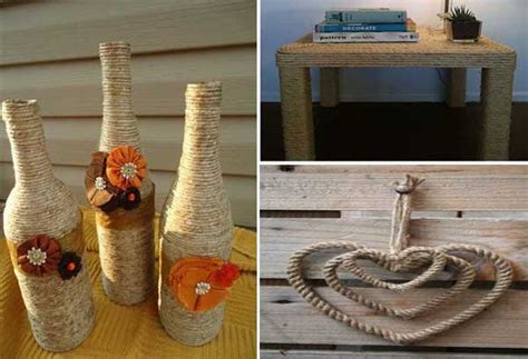 decorar jarrones con esparto 20 ideas diy sencillas y originales para decorar con