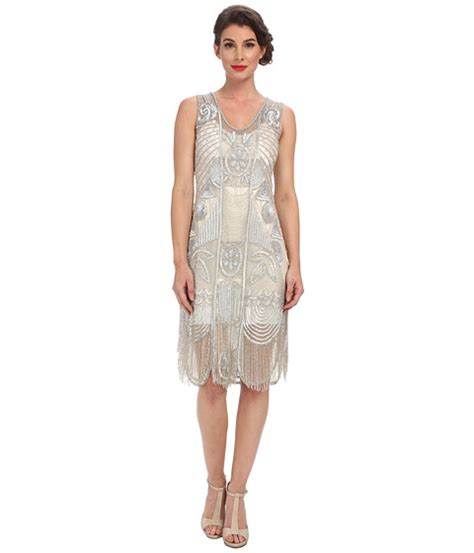 search unique vintage the bosley beaded fringed flapper
