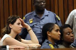 Sis Reeva oscar pistorius is locked up in solitary cell as he starts