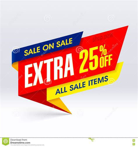 Sale All sale on sale paper banner 25 stock photo image 75857151