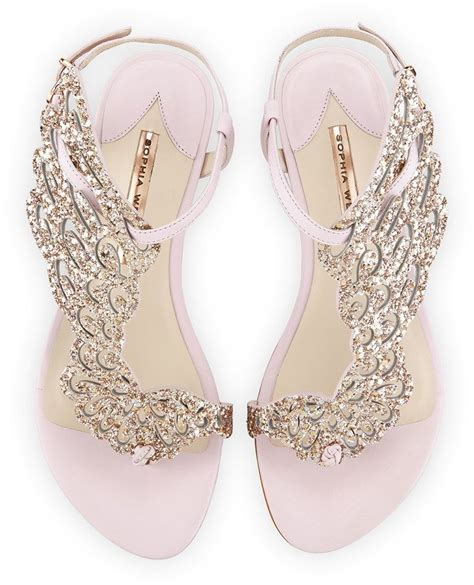 25  best ideas about Bridal Sandals on Pinterest   Flat bridal shoes, Pearl sandals and Bridal shoes