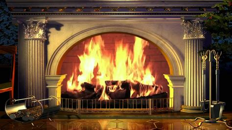 Fireplace Background by Fireplace Yule Log Free Background 1080p