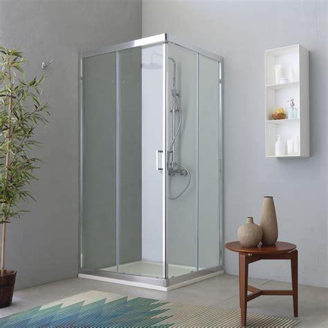 cabina doccia rettangolare box doccia rettangolare 80x120 con apertura scorrevole