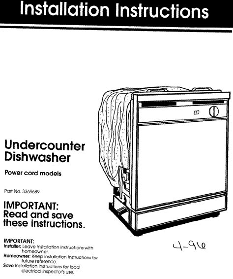 Whirlpool Dishwasher 801 User Guide Manualsonline Com