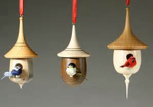 Latest and probablyfinal for a while batch of birdhouse ornaments