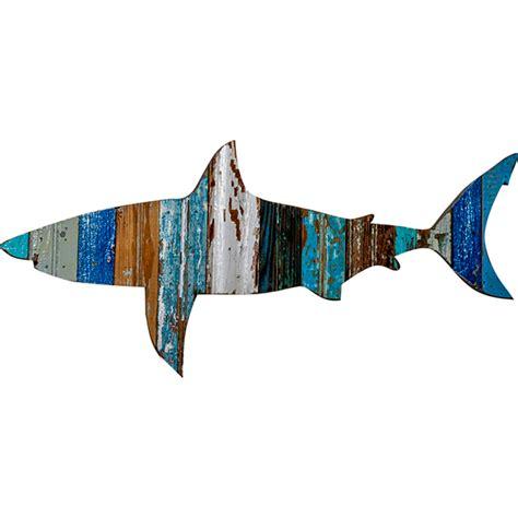 shark home decor shark wooden plaque
