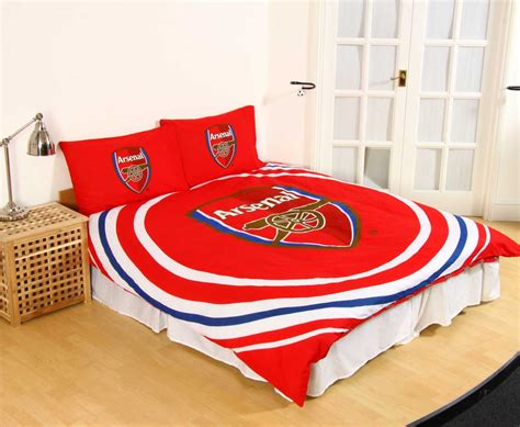 arsenal quilt cover arsenal fc pulse double duvet cover set characterlinens