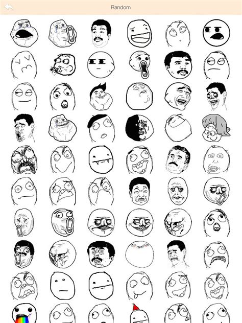 All Meme Faces List - what happened to the troll faces neogaf