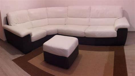 divani in pelle roma divano angolare vera pelle bianco e grigio annunci roma