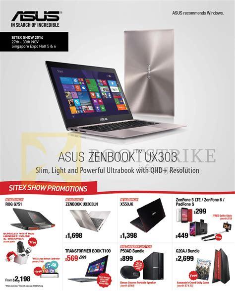 Asus Rog G751 Specs And Price asus notebook zenbook ux303 new launches rog g751 transformer book t100 x550jk zenfone sitex