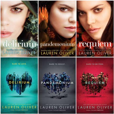 Requiem Delirium Trilogy three dystopian trilogies i couldn t put this
