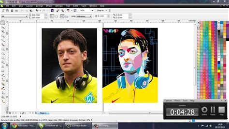 youtube membuat wpap tutorial wpap mezut ozil youtube