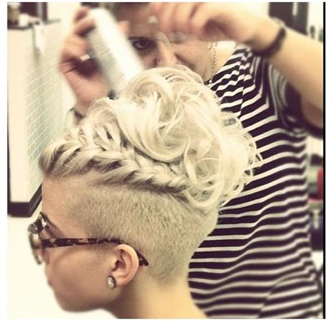 braided styles up do for shaved hair on the sides 45 fantastic braided mohawks to turn heads and rock this