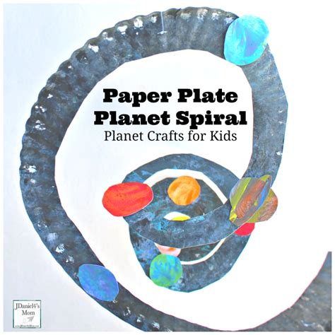planet crafts for planet crafts paper plate solar system spiral