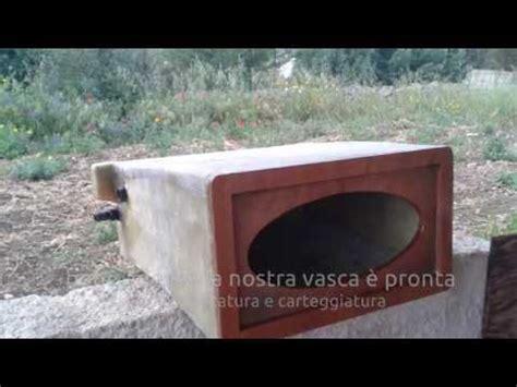 costruzione vasca vivo vasca vivo autocostruita fai da te termoisolata con