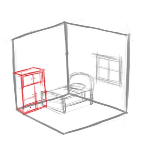 disegnare una libreria come disegnare una stanza 7 passaggi illustrato