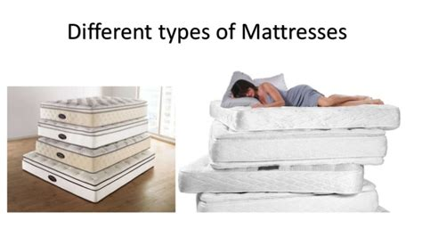 Mattress Types by Types Of Mattresses 10 Mattresses Explained