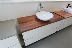 Timber Vanity Bench Tops Melbourne Poly Tops Reclaimed Timber Top Vanity Sets
