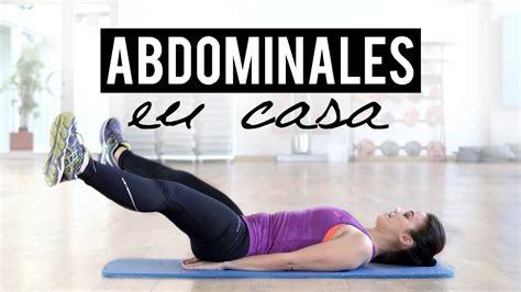 ejercicios abdominales en casa rutina de abdominales en casa abs workout
