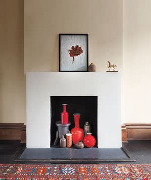 How To Display Without A Fireplace show a collection of vases in your fireplace dress