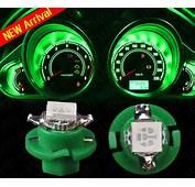 4X Green T5 B84D Car Gauge 5050 LED Speedo Dashboard Dash
