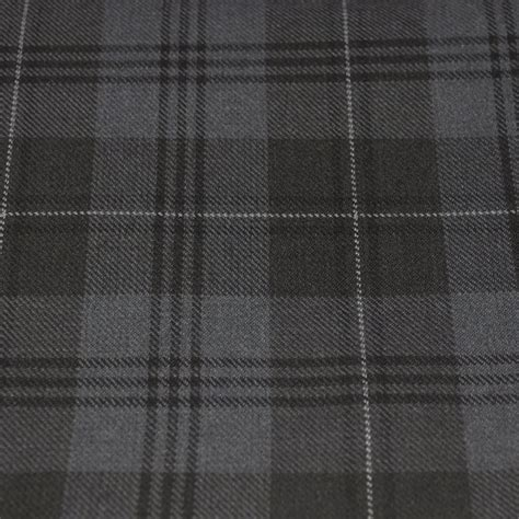 grey tartan upholstery fabric tartan fabric grey granite