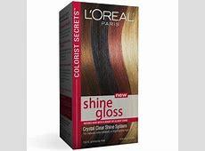 Colorist Secrets Shine Gloss - Brilliant, Shiny Hair - L ... L'oreal Hair Products