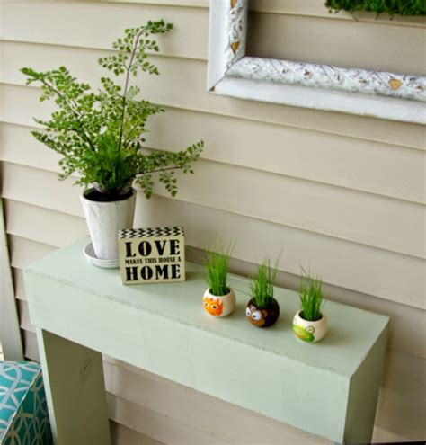 Front Porch Table Front Porch Simple Console Table Our House Now A Home