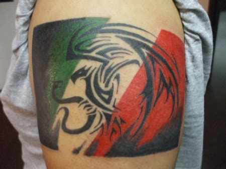 mexican flag tattoo titled mexican eagle tattoorack tribal tattoos
