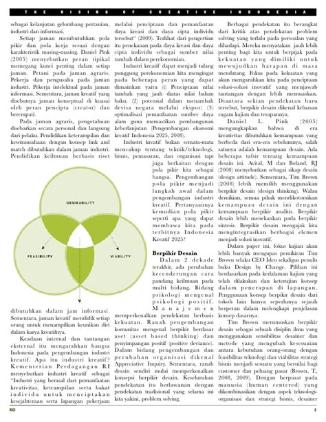 design thinking indonesia design thinking key factor of the rising of creative