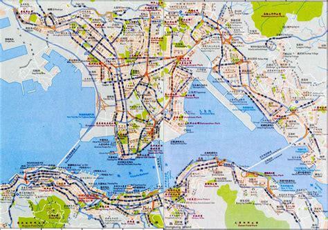 map of hong kong map of hong kong maps of hong kong