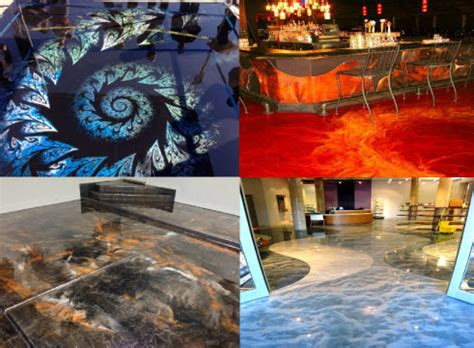 Amazing Floors by Sweet Decorative Concrete Artwork Done To Any Concrete