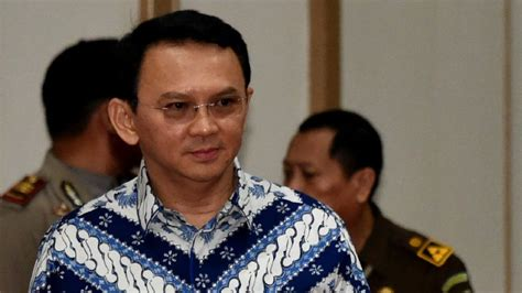 ahok jakarta jakarta governor ahok found guilty of blasphemy bbc news