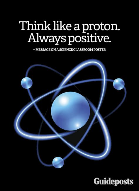 Are Protons Positive by Positive Quote Inspiring Proton Science Positive Thinking