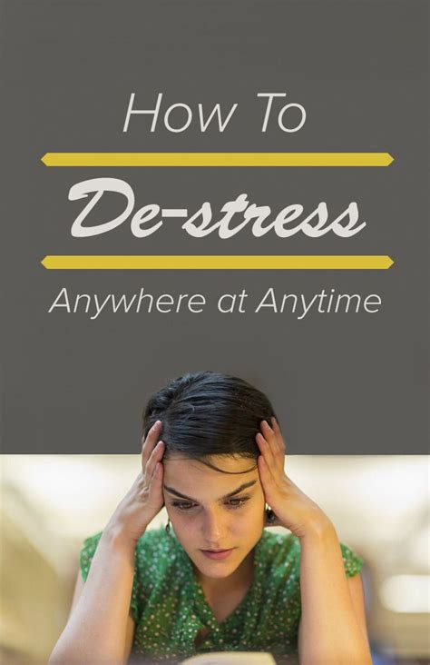how to de stress you cat 11 ways to de stress based on how much time you can spare