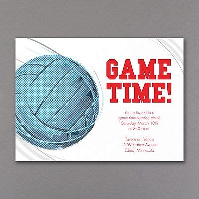 free printable volleyball invitations 138 best party invitations images on pinterest birthday