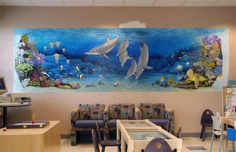 murals in the childrens hospital las vegas