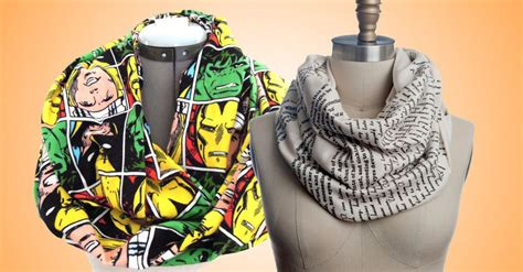 bundle up with these 14 nerdy scarves