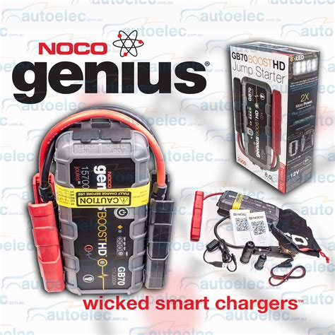 noco genius boost battery charger noco genius boost 12v mini jump starter booster 2000a max