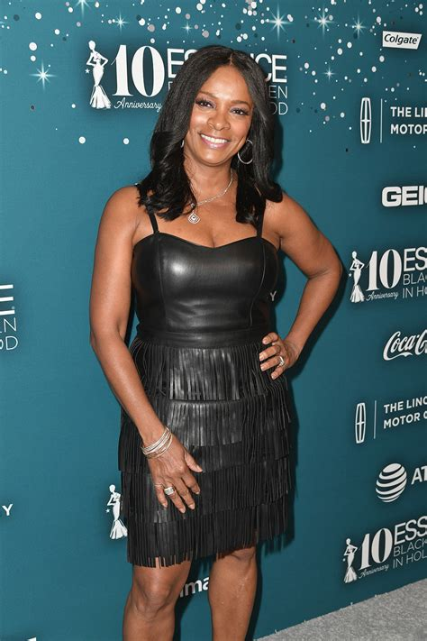 vanessa bell vanessa bell calloway at essence black women in hollywood awards leather celebrities