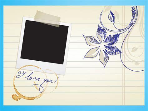 Love Letter Template Free Letter Design Templates
