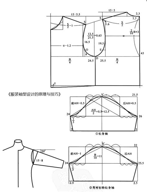 pattern grading raglan sleeves basic construction pattern design sleeve