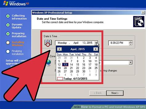 format cd xp sp3 how to format a pc and install windows xp sp3 with pictures
