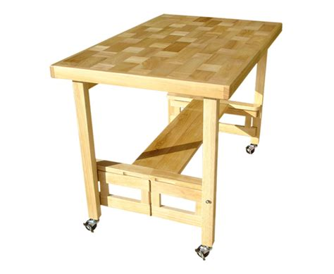 folding kitchen island work table oasis concepts space saving folding furniture