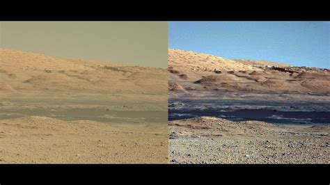what is the real color of the sky mars sols 568 to 571 hd 2014 true color