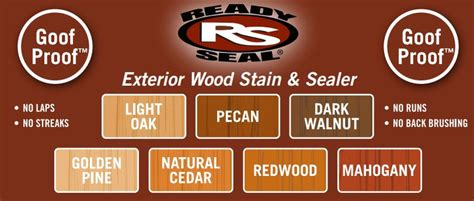 ready seal stain colors ready seal 1 gal cedar exterior wood stain and