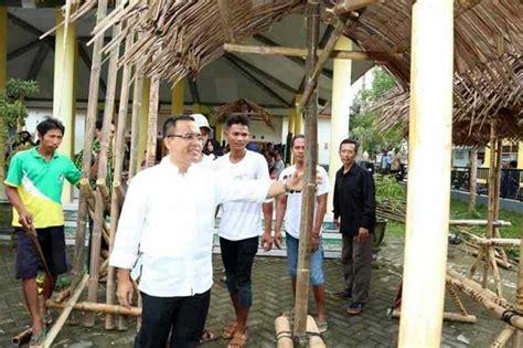 Kursi Bambu Di Banyuwangi unik festival bambu di gintangan banyuwangi balipost