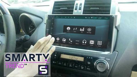 toyota land cruiser prado    android  dash car stereo navigation head unit smarty